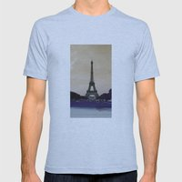 La Belle époque Mens Fitted Tee Athletic Blue SMALL