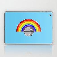 Death Star Rainbow Laptop & iPad Skin