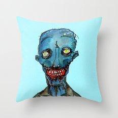 Blue Period Throw Pillow