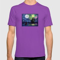 Part Of That World Mens Fitted Tee Ultraviolet SMALL