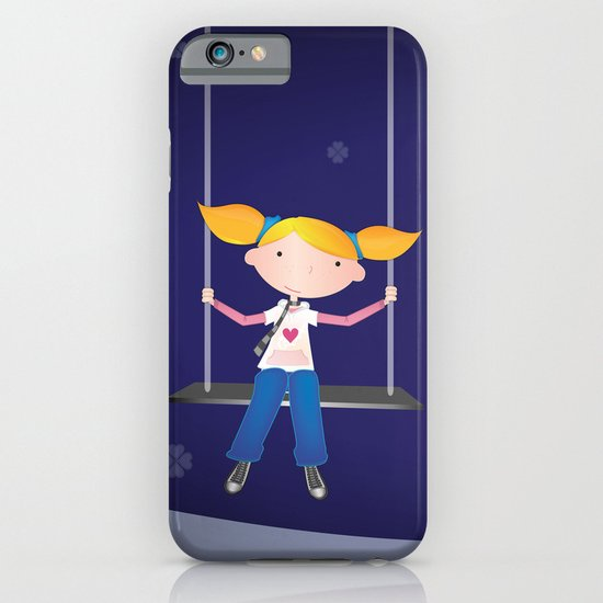 Swing Girl iPhone & iPod Case