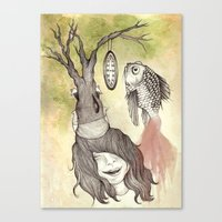 Balancing Life Canvas Print