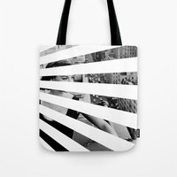 City Rays Tote Bag