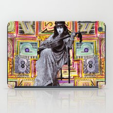Guitarist in Time iPad Case