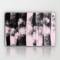 Pink Black Abstract texture  Laptop & iPad Skin