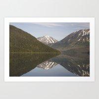 Reflections: Hourglass Art Print