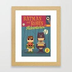 Superhero Adventures! Framed Art Print