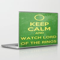 lord of the rings Laptop & iPad Skins featuring Lord of the Rings by MeMRB