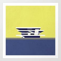America's Cup Building -… Art Print