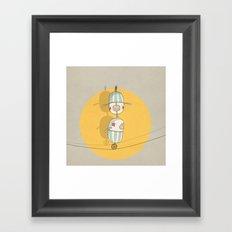 circus 003 Framed Art Print