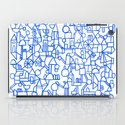 Blue space iPad Case