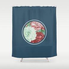 Floribus Orbis Shower Curtain