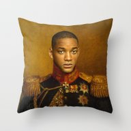 Will Smith - Replaceface Throw Pillow