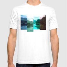 landscape of colour Mens Fitted Tee White SMALL