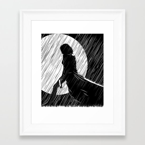 Death dealer Framed Art Print