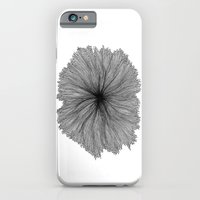 Jellyfish Flower B&W iPhone 6 Slim Case