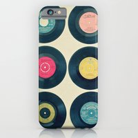 iPhone & iPod Case featuring Vinyl Collection by Cassia Beck