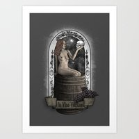 In Vino Veritas Art Print