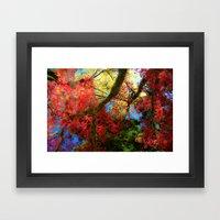Fall Colors at Crescent Lake Lodge, 2 Framed Art Print