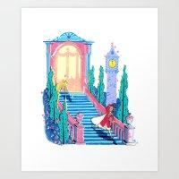 Cinderfella Art Print