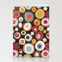 Veneto Boho Spot Chocola… Stationery Cards