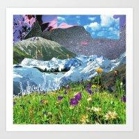 Experiment Am Berg 31 Art Print