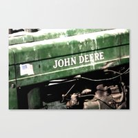 John Deere Canvas Print