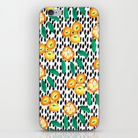 Citrus and Leaves II iPhone & iPod Skin