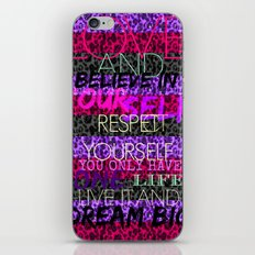 To the fullest iPhone & iPod Skin