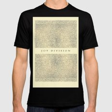 joy division Black Mens Fitted Tee SMALL