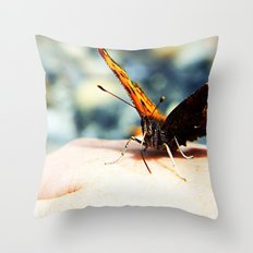 Butterfly Kisses 3 Throw Pillow
