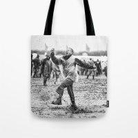 Mud and Techno Tote Bag