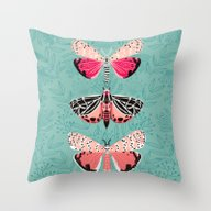 Lepidoptery No. 6 By And… Throw Pillow