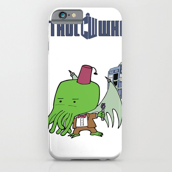 Cthul'Who iPhone & iPod Case