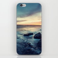Sunset on the Breakwater iPhone & iPod Skin