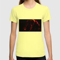Iron Man Womens Fitted Tee Lemon SMALL