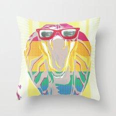 Cobra don't care Throw Pillow