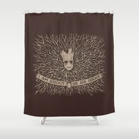 I am and We Are Shower Curtain