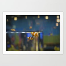 In the Tank: Found Art Print