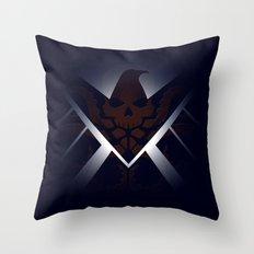 Hidden HYDRA – S.H.I.E… Throw Pillow