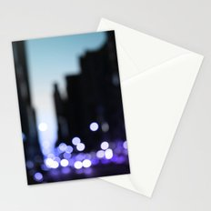Big lights will inspire you Stationery Cards