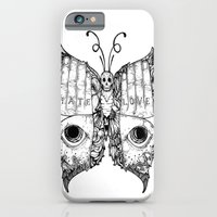 hate love butterfly iPhone 6 Slim Case