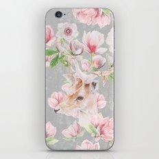 Deer Head & Magnolia's  iPhone & iPod Skin