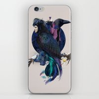 liquor for the birds iPhone & iPod Skin