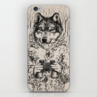 A Wolf In Sheep's Clothi… iPhone & iPod Skin