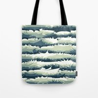 Explosions in the water Tote Bag