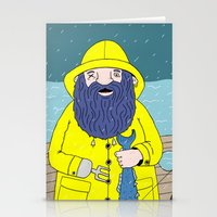 Fisherman Stationery Cards