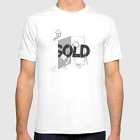 Sold Out Mens Fitted Tee White SMALL