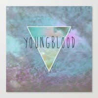YOUNGBLOOD Canvas Print