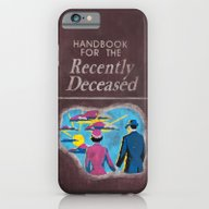 iPhone & iPod Case featuring Beetlejuice - Handbook F… by Elanor Jarque